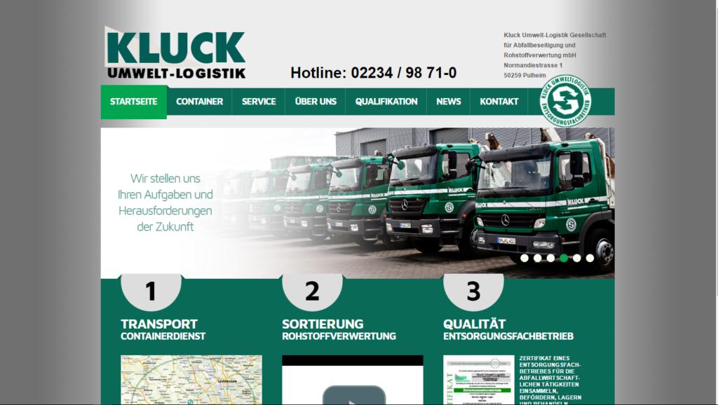 Kluck Entsorgungsfachbetrieb/Containerdienst GmbH