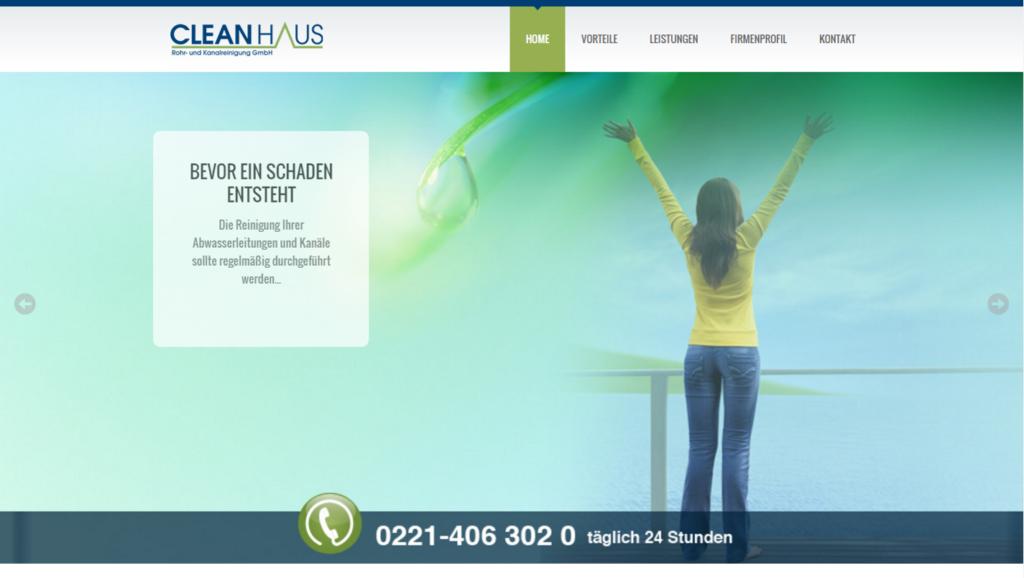 Cleanhaus Rohr- und Kanalreinigung GmbH